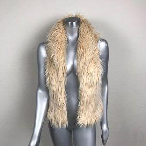INC Winter Vest Casual Faux Fur Lined Brown Sz M